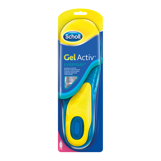 Гелиевые стельки Scholl Gel Active (Шоль Гель Актив) для обуви